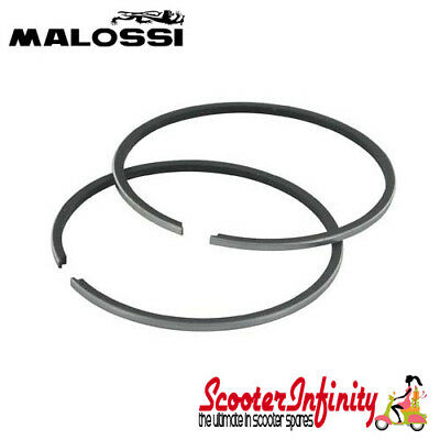 Piston Rings Malossi for 200cc Sport/MHR (Vespa 200 Rally/PX200 E/Lusso/`98/MY)