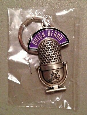 a2071ac944c Chick Hearn Los Angeles Lakers Keychain Sga 11/27/16 Giveaway Metallic  Pewter
