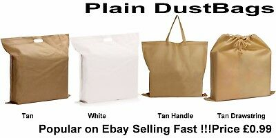Dust Bag for Leather Handbags, Shoes, Belts, Gloves, Acc., Drawstring Dust Bags