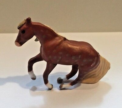 Breyer Mini Whinnies Surprise Series 2 - Flaxen Chestnut JOY, with Extras!!