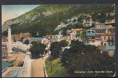 Gibraltar Postcard - The Town From The South   RS5620