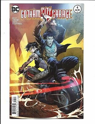 GOTHAM CITY GARAGE # 4 (DC Comics, JAN 2018), NM/M NEW