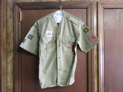 Australia City of South Perth Boy Scout Shirt, with insignia      A58
