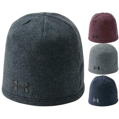 Under Armour  ColdGear Überlebende Fleece Beanie Herren Wintersport Golfmütze