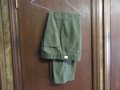 Boy Scout Pants, With Cargo Pockets, Waist 28  Inseam 28   A14