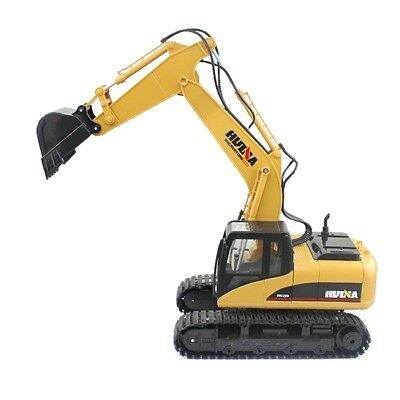 HUINA 1:14 2.4GHz 15CH RC Alloy Excavator RTR with Independent Arms Function