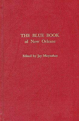 THE BLUE BOOK of Storyville New Orleans Prostitute Guide Limited Edition of 500