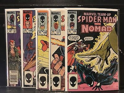 Lot of 5 Marvel Team-Up #146 147 148 149 150 (1972) Spider-Man  Shipping Deal!