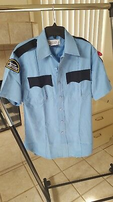 Allied Barton Security Services Shirt Uniform Sz 15 1 2