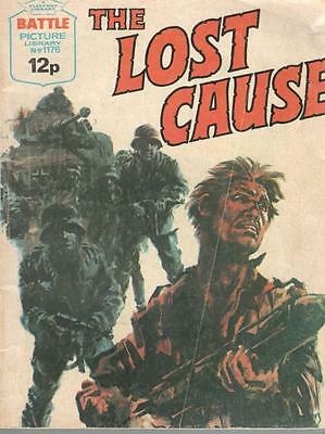 1978  No 1176 38550  Battle Picture Library  THE LOST CAUSE