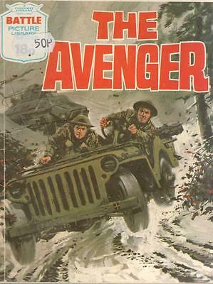 1979  No 1329 38609 Battle Picture Library  THE AVENGER