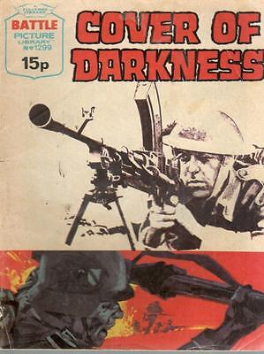 1979  No 1299  W38593  Battle Picture Library  COVER OF DARKNESS
