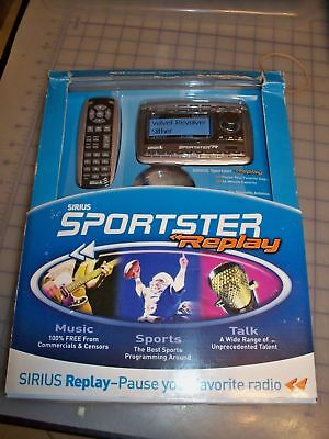 7025 Sirius Sportster Replay SP-TK2/SP-R2 Satellite Radio Open Box w/car kit