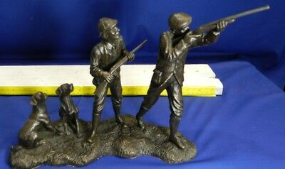 VERY RARE Vintage Heredities Right and Left Cast Bronze A. Maslankowski VT1575