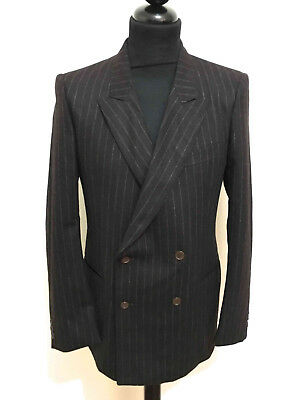 CULT VINTAGE '70 Completo Vestito Giacca Uomo Lana Wool Man Full Dress Sz.M - 48