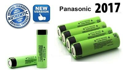 100% Genuine Panasonic 18650 3400mAh NCR18650B Li-ion Vape Rechargeable Battery