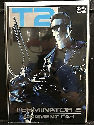 T2 Terminator 2 Judgement Day #1 (1991 Trade Paper Back TPB Marvel) ship Deal!