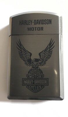 HARLEY DAVIDSON Metal Stylish Wind Proof Gas Lighter  Great Gift For All Smoker