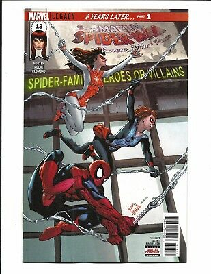 AMAZING SPIDER-MAN: RENEW YOUR VOWS # 13 (Marvel Legacy, JAN 2018) NM NEW
