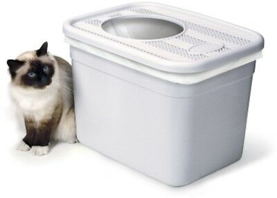 Clevercat Top Entry Litterbox Cat