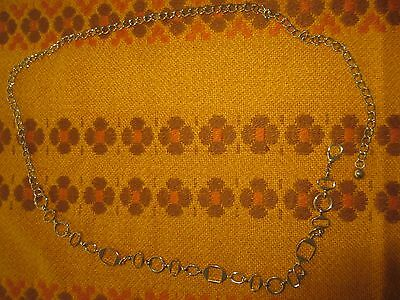 Vintage Retro Chain Belt Goldtone 104 cms