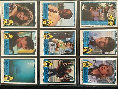 1983 Topps Jaws 3D Trading Card Set
