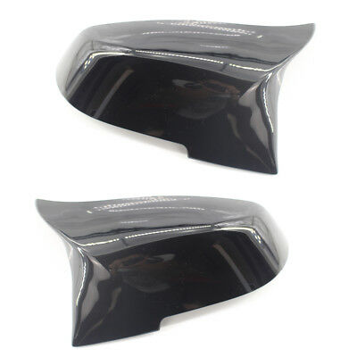 M3 M4 Look Gloss Black Mirror Cover Fit For BMW F30 F32