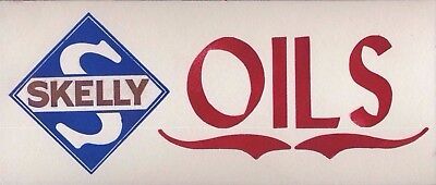 Skelly Advertising Blotter Oil Gas sign pump can motor