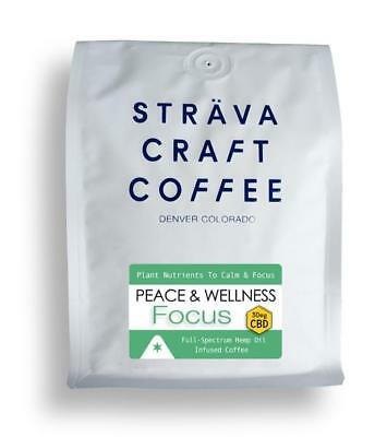Strava Craft Hemp coffee (Whole beans)
