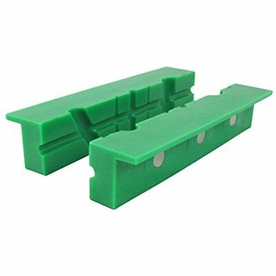 Bench Vises ION TOOL Universal Multi-Groove Jaws, Synthetic Rubber Green NEW SET