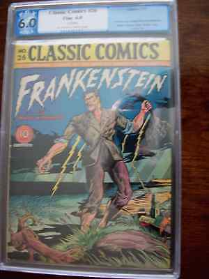 Classic Comics Classics Illustrated # 26 Frankenstein 1st Print (0) PGX 6.0
