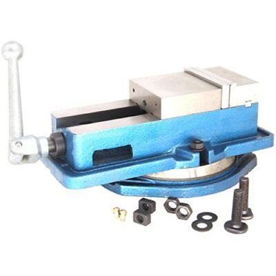 "Bench Clamps HFS (Tm) 5"" Milling Machine Lockdown Vise 360 Degree Swiveling Base"