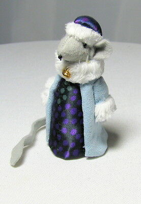 Hand Made Mouse Dressed As Wiseman King Entirely Hand Made In America