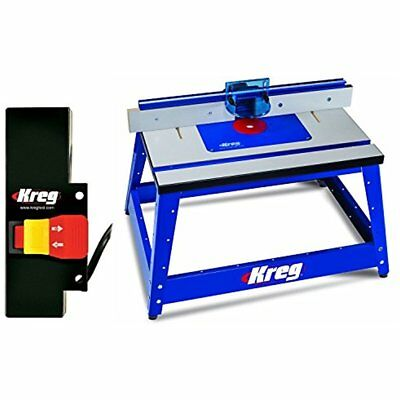Tables Kreg PRS2100 Bench Top Router Table W/ PRS3100 Switch NEW SET LOT TOOL