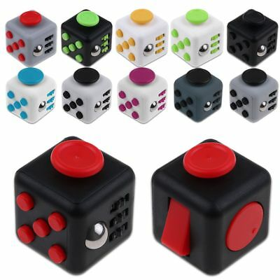 Fidget Cube Spinner Toy Children Desk Adults Stress Relief Cubes ADHD 2017