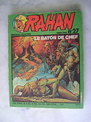 CHERET - Rahan nouvelle collection n° 27 - Le baton chef - 1981 EO
