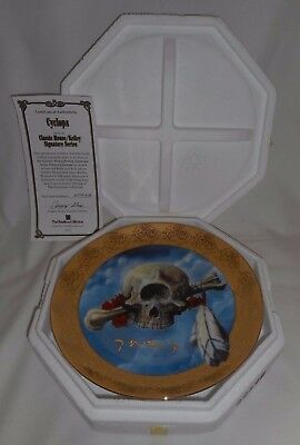 CYCLOPS Grateful Dead Terrapin Station Stanley Mouse Hamilton Collection Plate