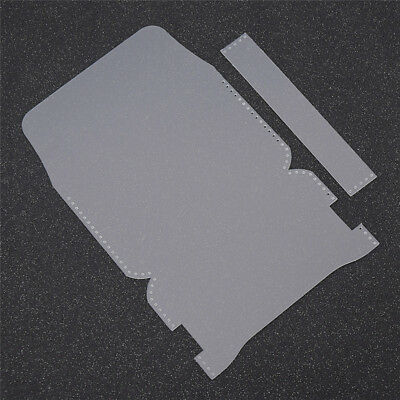 1 Set Leathercraft Business Card Carte Holder Cutting Template Accessories Tools