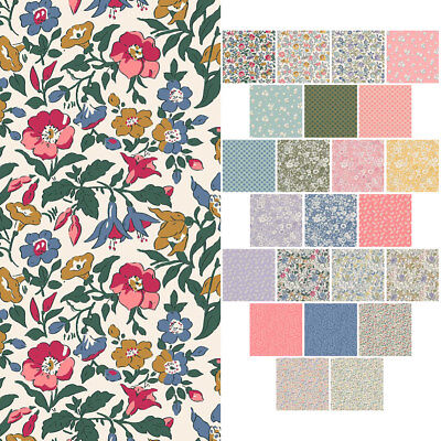 Liberty Print Quilting Cotton Fabric * ENGLISH GARDEN COLLECTION * 112cm Wide *
