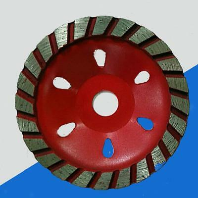 Grinding Wheel Concrete Cup Disc 4inch Alloy Metal Wood Granite 100mm Red