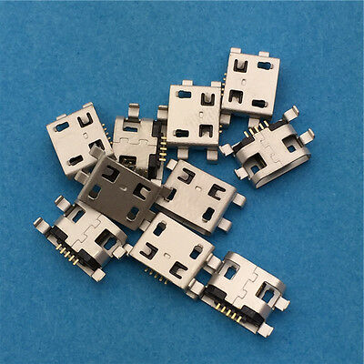 10pcs Micro USB 5pin B Type Female Socket Connector G29 Mobile Phone Charging