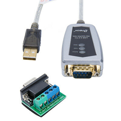DTECH USB to RS485 RS422 Serial FTDI Adapter Converter Cable Windows 10 8 7 Mac
