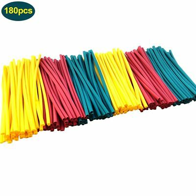 180Pcs 2:1 Heat Shrink Tubing 2.5mm 3mm Mix Colors Tube Sleeving Wire Cable Kits