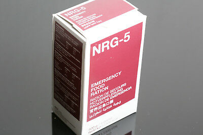 NRG-5 Packung 500 g, (9 Riegel) Notration