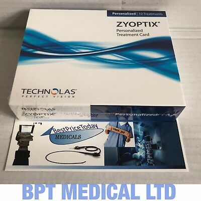 Zyoptix Personalized Treatment Card REF 88001150 Technolas Perfect Vision