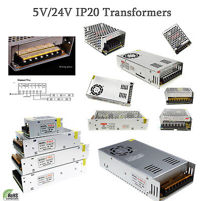 DC 5V/24V LED Driver Switching Power Supply Transformer for LED Strip Sign PSU