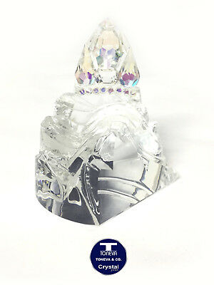 "[LIMITED EDITION] ""Large Castle"" Austrian Crystal Figurine/Paperweight"