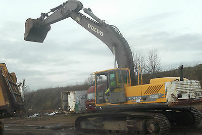 Volvo Ec390 Excavator , 1998 , Breaking For Spares , Parts Available