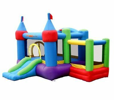Bounceland Inflatable Dream Castle with Ball Pit Bounce House Bouncer