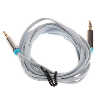 3.5mm Auxiliary Aux Male to Male Stereo Audio Cable for Car MP3 PC Computer